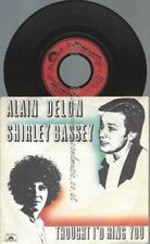 "7""    Alain Delon & Shirley Bassey ‎– Thought I'd Ring You"