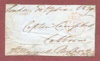 Free-front, Isle of Wight 1829, Captain Campbell,  Calbourne   H.Maxwell   QT142