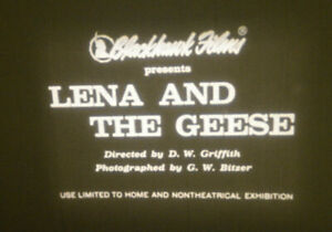 1912 Lena and the Geese 8 MM B&W Silent *DW Griffith*Mary Pickford*