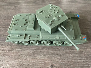 Rare 1970s Airfix 1:32 Poly Plastic Cromwell Tank WITH STICKERS