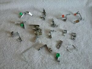 COLLECTION OF SEWING MACHINE ATTACHMENTS