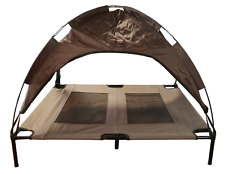 New listing K9 Kennel Store Elevated Steel Framed Cooling Dog Bed Cot & Cover