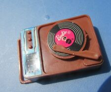 Vintage Barbie Doll Record Player Records Busy Hands Talking Steffie Ken 1972