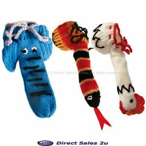 Knitted Willy Warmer Animal Posing Pouch Elephant Chicken Snake Gay Gift