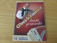 Oberkrainer leicht gemacht für steirische Harmonika  Michlbauer mit CD