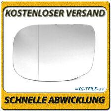 spiegelglas für HONDA ACCORD EU 2008+ links asphärisch fahrerseite