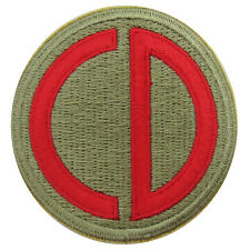 WW2 US AMERICAN 85TH INFANTRY DIVISION Uniform PATCH CD Custer Division - Repro