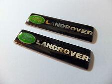 2 x LAND RANGE ROVER Sport Vogue Discovery Freelander Door side Badge Emblem