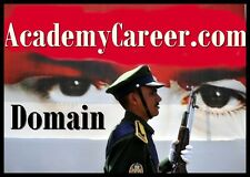 Academy Career .com Army Navy Marines Pilots Awards Travel Uniforms Domain Name