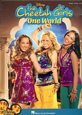 The Cheetah Girls One World songbook sheet music Disney