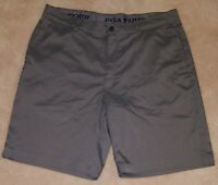 PGA Tour Solid Gray Men's Golf Shorts Size 36 Pockets