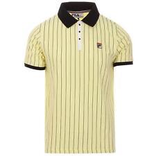 Fila Vintage Lemon Polo Retro Tennis Shirt - Wimbledon + Summer 2020