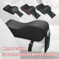 Universal Soft Auto Car Armrest Pad Leather Cover Center Cushion Console Box