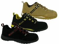 BRAND NEW MEN'S COMPOSITE SAFTEY LIGHT WEIGHT LACE UP SAFETY  BOOTS