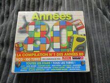 "COFFRET 5 CD NEUF ""ANNEES 80"" Alain DELON, Bernard MENEZ, Billy & Les Forbans, ."