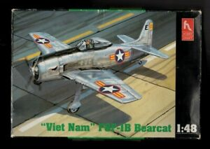 Hobby Craft.1/48. F8F-1B Bearcat. Factory Bagged Condition.Checked and Complete.