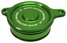 Apico Filtro De Aceite Cover Kawasaki Kx450f 06-15, Klx450 08-15 Verde