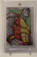 X-MEN'S COLOSSUS MARVEL UNIVERSE SKETCHAFEX ARTIST SKETCH AUTOGRAPH CARD 1/1