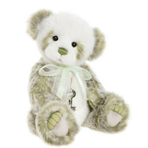 Kim, an 11 inch Panda Bear from the Charlie Bears Secret Collection