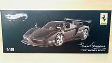 Ferrari Enzo Ferrari Test Monza (2003) scala 1/18 Hot Wheels Elite