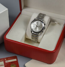 Vintage OMEGA 3521.30 Automatic SPEEDMASTER Triple Date Watch w/ Box & Papers