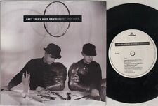 """PET SHOP BOYS left to my own devices 7"""" PS, B/W the sound of the Atom fendre,"""