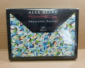 Alex Beard Impossible Puzzles FISHERY 315 Piece Jigsaw Puzzle 2008 NEW & SEALED