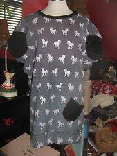 Irregular Choice Shoe Unicorn polka dot sample dress tunic top one of a kind!