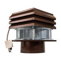 CHIMNEY FAN FLUE round 30cm Exhaust chimney draft Extractor Professional 220Volt