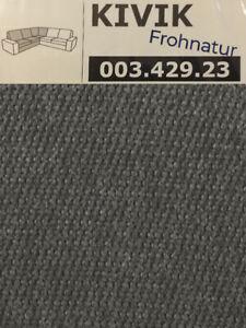 Ikea KIVIK Bezug Eckelement Borred graugrün NEU OVP 003.429.23 Ersatzbezug