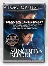 Minority Report - Dvd 2002 2-Disc Widescreen Plus Bonus Cd-Rom Game New