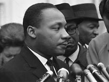 VINTAGE PHOTOGRAPH MARTIN LUTHER KING JUNIOR CIVIL RIGHTS POSTER ART LV11335