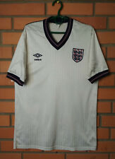 England Home football shirt 1984 - 1988 size M jersey soccer Umbro