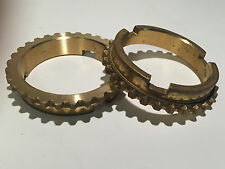 1939-1964 Ford  3-Speed OVERDRIVE Brass Synchronizer Rings (Pr) B5A-7107