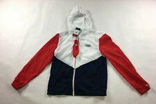 Tommy Hilfiger Windbreaker Hooded Slim Fit Jacket L Large...
