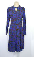 BLUE ILLUSION Size M 12 Dress Stretch As New