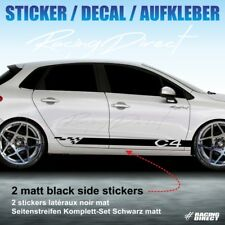 Sticker TUNING STRIPE Citroen C4 decal aufkleber adesivi pegatina 955