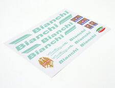 BIANCHI Decals Sticker Aufkleber Dekor 16-teilig Set Rennrad road bike - celeste