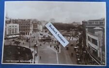 Vintage Postcard The Square Bournemouth Real photo Excel series 1930s
