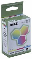 New ! Genuine Dell A940 A960 Color Printer Color Inkjet Cartridge 7Y745 Series 2