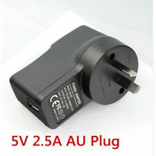 5V 2.5A AU Plug USB Power Supply Adapter Wall Charger for Raspberry Pi B+/B /2/3