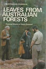 LEAVES FROM AUSTRALIAN FORESTS Henry Kendall **GOOD COPY**