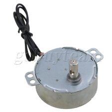 Synchronous Motor AC 220-240V 2.5-3RPM 50/60Hz 4W CCW/CW TYC-50 7mm Dia Shaft