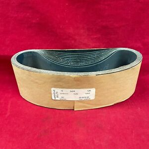 """New Set of 10: 3"""" X 24"""" 120 Grit Silicon Carbide Wet / Dry Sanding Belts"""