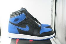 Air Jordan Retro 1 High OG BG Royal Blue Black GS 6.5Y GS = Women's 8