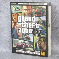 GRAND THEFT AUTO IV 4 Official Strategy Guide w/Poster PS3 Xbox360 Book CP91*