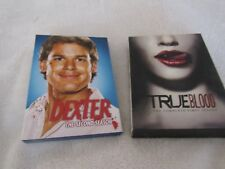 Lot 2 DVD Sets-Dexter Season 2-Second // True Blood First Season One