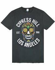 Amplified Cypress Hill Floral Skull Mens T-Shirt