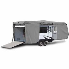 Weatherproof Travel Trailer Camper Storage Cover Fits 30'-33' Feet Rv Motorhomes
