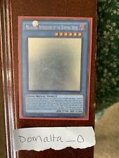 Yugioh Ghost Rare Malacoda, Netherlord of the Burning Abyss 1st Edition LP